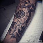 фото тату часы от 07.05.2018 №260 - tattoo watch - tatufoto.com