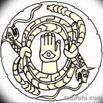 фото эскизы тату амулеты от 30.04.2018 №491 - sketches of tattoo amulets - tatufoto.com
