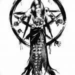 фото эскизы тату амулеты от 30.04.2018 №500 - sketches of tattoo amulets - tatufoto.com