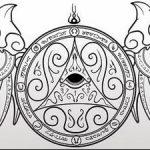 фото эскизы тату амулеты от 30.04.2018 №556 - sketches of tattoo amulets - tatufoto.com 234562 324623