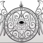 фото эскизы тату амулеты от 30.04.2018 №556 - sketches of tattoo amulets - tatufoto.com 234562
