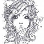 фото эскиз тату Афродита богиня от 01.05.2018 №002 - sketch Aphrodite - tatufoto.com