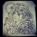 фото эскиз тату Афродита богиня от 01.05.2018 №004 - sketch Aphrodite - tatufoto.com