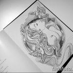 фото эскиз тату Афродита богиня от 01.05.2018 №013 - sketch Aphrodite - tatufoto.com