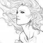 фото эскиз тату Афродита богиня от 01.05.2018 №017 - sketch Aphrodite - tatufoto.com