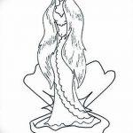 фото эскиз тату Афродита богиня от 01.05.2018 №018 - sketch Aphrodite - tatufoto.com