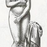 фото эскиз тату Афродита богиня от 01.05.2018 №046 - sketch Aphrodite - tatufoto.com