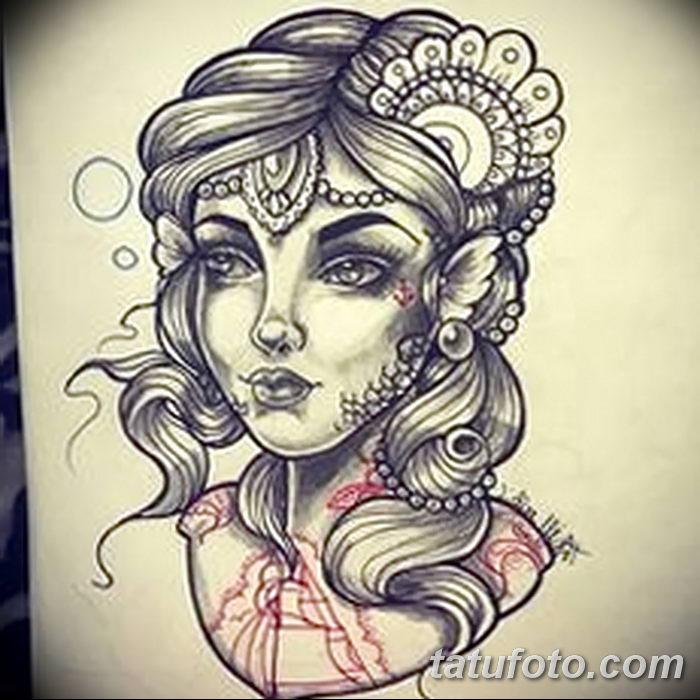 Богиня любви и красоты - Красота, вдохновленная