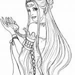 фото эскиз тату Афродита богиня от 01.05.2018 №069 - sketch Aphrodite - tatufoto.com