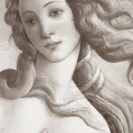 фото эскиз тату Афродита богиня от 01.05.2018 №074 - sketch Aphrodite - tatufoto.com