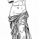 фото эскиз тату Афродита богиня от 01.05.2018 №088 - sketch Aphrodite - tatufoto.com