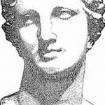 фото эскиз тату Афродита богиня от 01.05.2018 №094 - sketch Aphrodite - tatufoto.com
