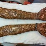 фото Мехенди до локтя от 24.06.2018 №021 - Mehendi to the elbow - tatufoto.com