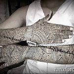 фото Мехенди до локтя от 24.06.2018 №031 - Mehendi to the elbow - tatufoto.com