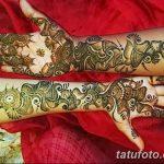 фото Мехенди до локтя от 24.06.2018 №040 - Mehendi to the elbow - tatufoto.com