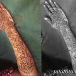 фото Мехенди до локтя от 24.06.2018 №044 - Mehendi to the elbow - tatufoto.com