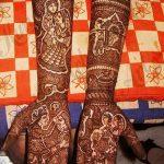 фото Мехенди до локтя от 24.06.2018 №062 - Mehendi to the elbow - tatufoto.com