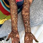 фото Мехенди до локтя от 24.06.2018 №069 - Mehendi to the elbow - tatufoto.com