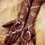 фото Мехенди до локтя от 24.06.2018 №072 - Mehendi to the elbow - tatufoto.com