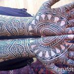 фото Мехенди до локтя от 24.06.2018 №087 - Mehendi to the elbow - tatufoto.com