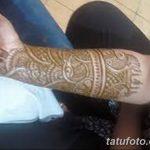 фото Мехенди до локтя от 24.06.2018 №102 - Mehendi to the elbow - tatufoto.com