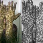 фото Мехенди до локтя от 24.06.2018 №117 - Mehendi to the elbow - tatufoto.com