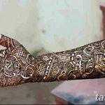 фото Мехенди до локтя от 24.06.2018 №123 - Mehendi to the elbow - tatufoto.com