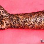 фото Мехенди до локтя от 24.06.2018 №131 - Mehendi to the elbow - tatufoto.com