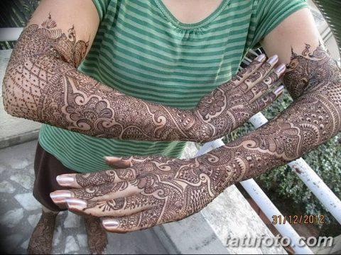 фото Мехенди до локтя от 24.06.2018 №151 - Mehendi to the elbow - tatufoto.com
