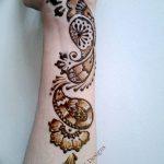 фото Мехенди до локтя от 24.06.2018 №155 - Mehendi to the elbow - tatufoto.com