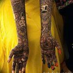 фото Мехенди до локтя от 24.06.2018 №156 - Mehendi to the elbow - tatufoto.com