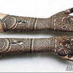 фото Мехенди до локтя от 24.06.2018 №159 - Mehendi to the elbow - tatufoto.com