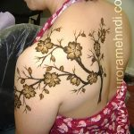 фото Мехенди на плече (хна) от 24.06.2018 №042 - Mehendi on the shoulder - tatufoto.com