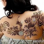 фото Мехенди на плече (хна) от 24.06.2018 №074 - Mehendi on the shoulder - tatufoto.com