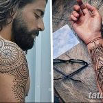 фото Мехенди на плече (хна) от 24.06.2018 №099 - Mehendi on the shoulder - tatufoto.com