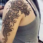 фото Мехенди на плече (хна) от 24.06.2018 №112 - Mehendi on the shoulder - tatufoto.com
