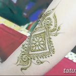 фото Мехенди на плече (хна) от 24.06.2018 №129 - Mehendi on the shoulder - tatufoto.com
