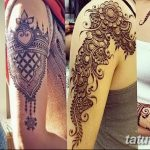 фото Мехенди на плече (хна) от 24.06.2018 №131 - Mehendi on the shoulder - tatufoto.com
