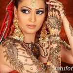 фото Мехенди на плече (хна) от 24.06.2018 №150 - Mehendi on the shoulder - tatufoto.com