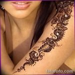 фото Мехенди на плече (хна) от 24.06.2018 №155 - Mehendi on the shoulder - tatufoto.com