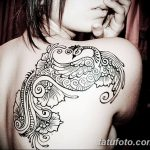 фото Мехенди на плече (хна) от 24.06.2018 №158 - Mehendi on the shoulder - tatufoto.com