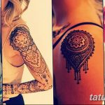 фото Мехенди на плече (хна) от 24.06.2018 №160 - Mehendi on the shoulder - tatufoto.com