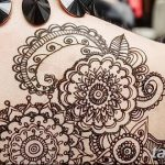 фото Мехенди на плече (хна) от 24.06.2018 №167 - Mehendi on the shoulder - tatufoto.com