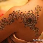 фото Мехенди на плече (хна) от 24.06.2018 №171 - Mehendi on the shoulder - tatufoto.com