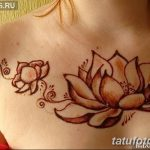 фото Мехенди на плече (хна) от 24.06.2018 №181 - Mehendi on the shoulder - tatufoto.com
