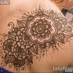 фото Мехенди на плече (хна) от 24.06.2018 №186 - Mehendi on the shoulder - tatufoto.com