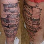 фото Модные тату от 23.06.2018 №040 - Fashionable Tattoos - tatufoto.com