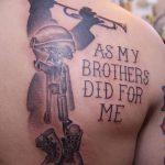 фото Модные тату от 23.06.2018 №373 - Fashionable Tattoos - tatufoto.com