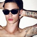 фото Модные тату от 23.06.2018 №410 - Fashionable Tattoos - tatufoto.com