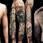 фото Модные тату от 23.06.2018 №539 - Fashionable Tattoos - tatufoto.com